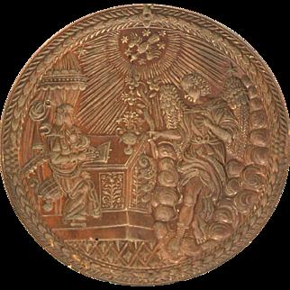 17th Century Swiss Cookie Board