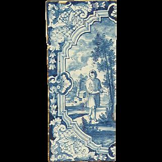 18th Century Stove Tile