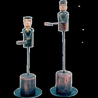 Pair of bell ringers