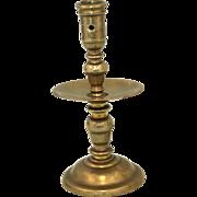 17th Century Dutch candlestick.