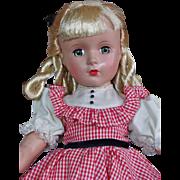 Madame Alexander Hard Plastic Amy from Little Women Series