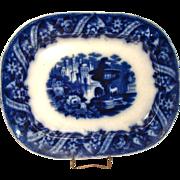 Alexandria Flow Blue Platter