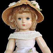 """Madame Alexander 18"""" Hard Plastic Margaret Rose"""