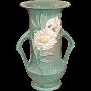 Large Roseville Peony Vase