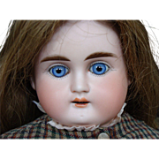 Bisque Turned Shoulder Head Child Doll