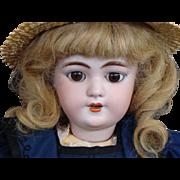 """19"""" Heinrich Handwerck #109 Bisque Head Child Doll"""
