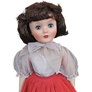 """24"""" American Character Sweet Sue Wearing Her Red Collegiate Two Piece Outfit"""