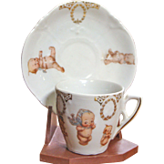 Child Size Kewpie Cup and Saucer