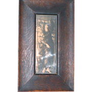 Oak Arts & Crafts Frame