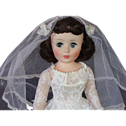 "20"" American Character Flirty Eye Toni Bride Doll with Box"
