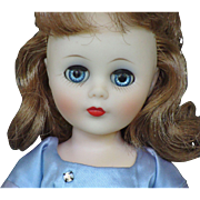 "14"" American Character Sweet Sue Sophisticate Wearing a Blue Tea Time Dress"