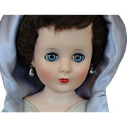 """20"""" American Character Sweet Sue Sophisticate Doll Wearing a Blue Romance Gown"""