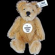 1997 Steiff Club Miniature Bear with Original Box and Certificate