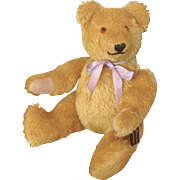 "Cute 10"" Mohair Teddy Bear By Johanna Haida"