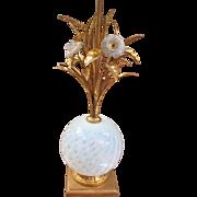 Italian Venetian Murance Table Lamp