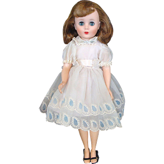 """20"""" American Character Sweet Sue with Flexible Feet Wearing Her """"Sunday Best"""" Dress in Blue"""