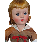 "American Character Hard Plastic 20"" Sweet Sue Doll"