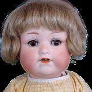 Cute Little Armand Marseille 990 Bisque Head Baby Doll