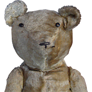 Old Jointed Mohair Bear with Hump