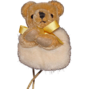Darling Merrythought Mohair Bear Muff for Your Doll