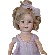 "Darling 13"" Composition Shirley Temple Doll"
