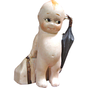 All Bisque Kewpie Traveler Made in Japan