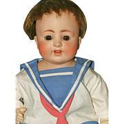 German Bisque Shoulder Head K&K Baby Doll