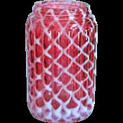 Cranberry Sugar Shaker, Missing Top