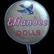 Effanbee Celluloid Pinback