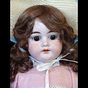 Armand Marseille Bisque Shoulder Head Child Doll