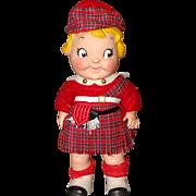 1960's Scottish Campbell Kid Vinyl Doll