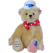 Steiff Mohair First American Teddy Bear
