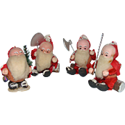 French Spun Cotton Santa Elves