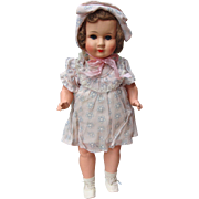 German Painted Bisque Doll Wearing Original Clothing
