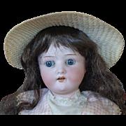 Little Ernest Heubach Bisque Head Child Doll