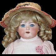 German Bisque Shoulder Head Child Doll