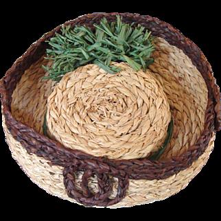 French Fashion Straw Hat