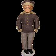 Cute Little Celluloid Head Doll