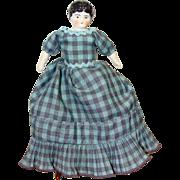 Miniature China Head Doll