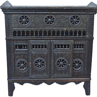Miniature French Brittany Cabinet