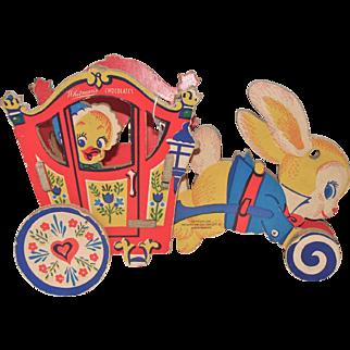 Whitman's Chocolates Easter Bunny Cart