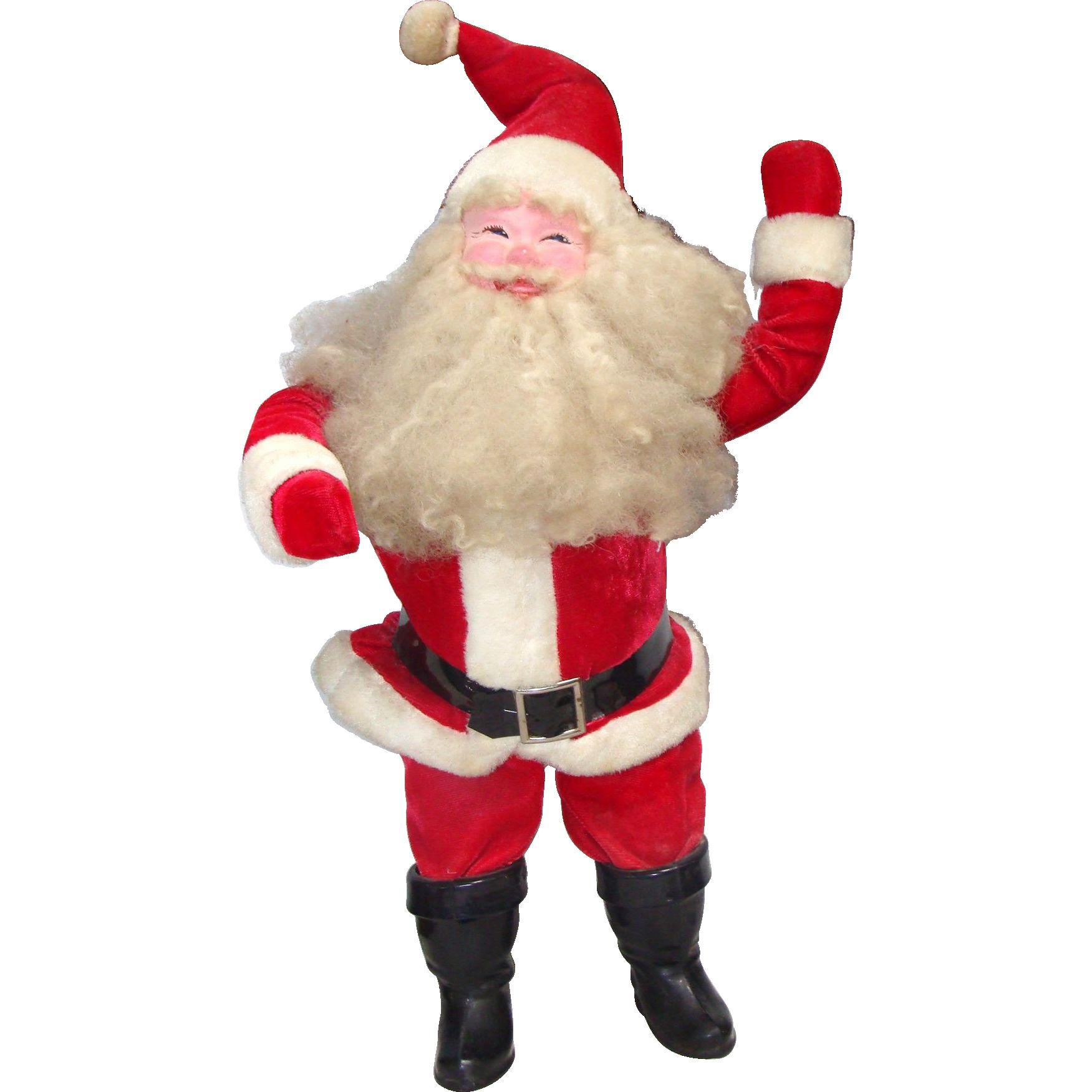 Large Harold Gale Display Santa