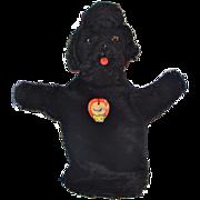 Steiff Black Mohair Snobby Hand Puppet