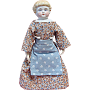Sweet Little Highland Mary China Head Doll