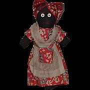 New Orleans Souvenir Cloth Mammy Doll