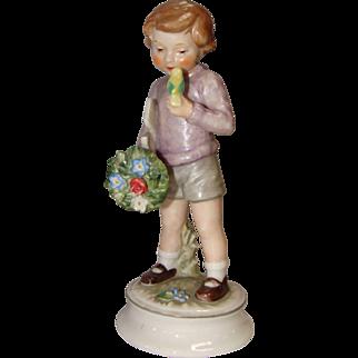 1966 Goebel Blumenkinder Lore Bearer Of Gifts Figurine.