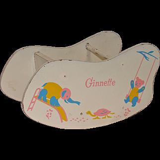 Strombecker Shoo-Fly Rocker for Vogue Ginnette Baby Doll