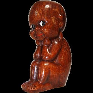 Kewpie Thinker Made In Italy by Alberto Lena