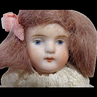 Sweet Little Strobel & Wilken All Bisque Child Doll