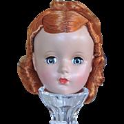 Madame Alexander Hard Plastic Doll Head - Red Tag Sale Item